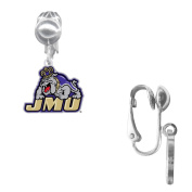 James Madison University Logo Earrings
