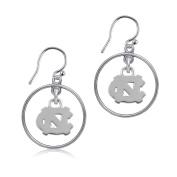 NCAA University of North Carolina (UNC) Tar Heels Jewellery - Sterling Silver Women's Earrings