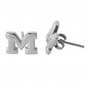 NCAA University of Michigan Wolverines Jewellery - Sterling Silver Women's Earrings