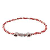 Ohio State Titanium (Double Braid) Core Sport Necklace