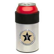 Stainless Steel Can Cooler with Team Logo