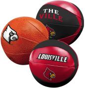 NCAA Three Ball Softee Basketball Set, 10cm