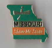State Shaped Pin, Hat, Tie, Lapel, Etc.