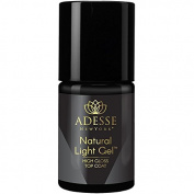 Adesse New York Organic Infused Nail Treatments- Natural Light Gel High Gloss Top Coat 11ml
