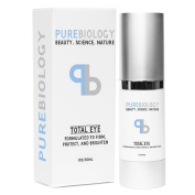"Pure Biology ""Total Eye"" - Anti Ageing Eye Cream Infused with Instant Lift Technology & Baobab Fruit Extract"