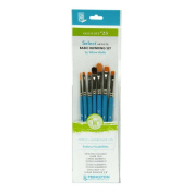 Princeton Select Artiste, Mixed-Media Brushes for Acrylic, Oil, Watercolour Series 3750, 7 Piece Value Set 123