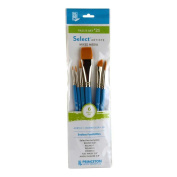 Princeton Select Artiste, Mixed-Media Brushes for Acrylic, Oil, Watercolour Series 3750, 6 Piece Value Set 121