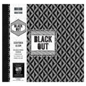 Black Out Large 30cm First Edition FSC Scrapbook Window Memory Photo Album