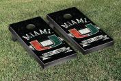 Miami Hurricanes Cornhole Game Set