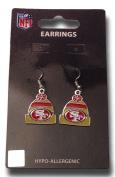 NFL Licenced Beanie Knit Hat Dangle Earrings
