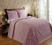 Better Trends / Pan Overseas 300cm X 280cm Rio Bedspread, King, Pink