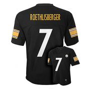 Ben Roethlisberger Pittsburgh Steelers Youth Black Jersey