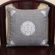 TRE Linen pillow/Classical sofa cushions/office cushion / back on the bed/ car waist cushion-J 40x60cm