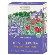 Four Elements Herbals Herbal Teas Tulsi Telepatea 16 tea bags