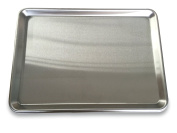 """EQ Solid Aluminium Oven Tray Baking Sheet, 6 Units Package 13""""X18""""X1"""", 1.0mm"""