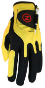 Zero Friction Men's Compression-Fit Synthetic Golf Glove, Universal Fit One Size