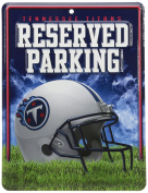 NFL Hi-Res Metal Parking Sign