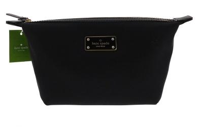 Kate Spade New York Blake Avenue Jodi Cosmetics Make-Up Bag (Black)