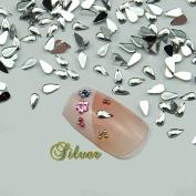 Fashion gallery 10000pc/bag water Drop Teardrop  .   Star Shape New Crystal 15D Nail Rhinestone Shiny Nail Art Tips Decoration Nail Tools by FASHION GALLERY