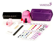 VANESSA Nail Sticker 12 Kinds Full Package With Free LED LAMP Set