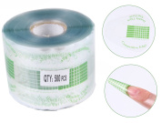 Beauty Leader 500 Pcs/Roll Nail Form Stickers Clear Nail Art Guide Form Acrylic UV Gel Tips Extension