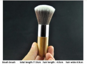 IB Brushes Luxury Bamboo Wooden Make Up Brush For Eyes & Face- Eco Friendly (Choose Brush Type) (Blush Brush 11cm) by Infinitive Beauty