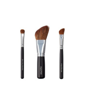 VEGAN LOVE Wet/Dry Shadow Angled Face Brush Trio, Angle Blender
