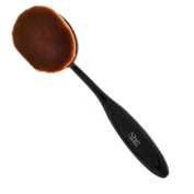 S.he Large Head Oval Cream Puff Cosmetic Toothbrush Shaped Power Makeup Foundation Brush
