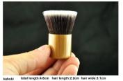IB Brushes Luxury Bamboo Wooden Make Up Brush For Eyes & Face- Eco Friendly (Choose Brush Type) (Kabuki Brush 4.6cm) by Infinitive Beauty