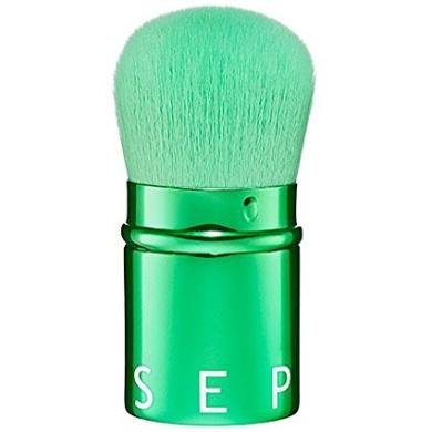 Retractable Kabuki Brush Sephora Collection Emerald Green