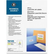 Business Source Premium White Mailing Labels - Shipping 98105