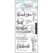 Hampton Arts Clear Stamps ~ Layer Words