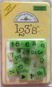 Doodlebug Designs 123's Acrylic Square Grasshopper Assortment