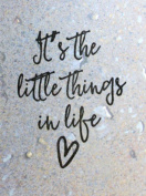 UMR-Design ST-080 Little Things Airbrushstencil Step by Step Size S 5cm x 6,5cm