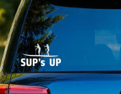 T1144 SUPs Up Decal - 7.6cm x 15cm - Easy to apply- Instructions Included - Premium 6 Year Vinyl