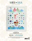 Wee Sea Quilt Fusion Octopus Fish Phillips Design House Complete Pattern Set