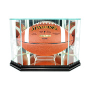 NFL Octagon Football Glass Display Case