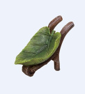 Miniature World Leaf Wheelbarrow and Pail Ornaments - Multi-Colour