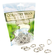 50 - Country Brook Design 1.9cm Welded D-Rings