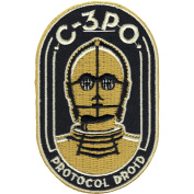Star Wars Official C-3PO 'Protocol Droid' Force Awakens Lucasfilm Iron On Patch