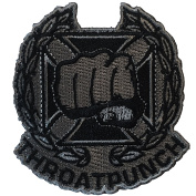 Throat Punch Qualification Badge - Embroidered Morale Patch