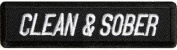 CLEAN AND SOBER PATCH - Colour - Veteran Owned Business.