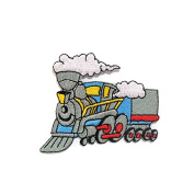 Choo-Choo Train DIY Embroidered Sew Iron on Patch