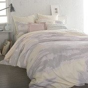 DKNY Twin Duvet Cover Mirage in Butter