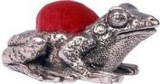 Wentworth Pewter - Frog Pewter Pincushion - 30mm x 30mm x 20mm