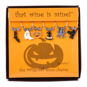 Wine Things Unlimited WT-1623P Spooky Wine Charms, Multicolor