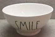 Rae Dunn Magenta Artisan Collection Cereal Soup Salad Bowl SMILE