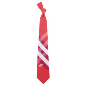NHL Woven Poly Grid Necktie With Team Logo