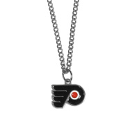 NHL Chain Necklace with Small Pendant, 50cm