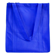 Reusable Grocery Bags (5 Pack) - Hold 30+ lbs - Extra Large & Super Strong, Heavy Duty Shopping Bags - Hook and loop Closure Tote Bags with Reinforced Handles & Thick Plastic Bottom for Strength